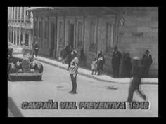 Primer Comercial Colombiano Campaña Prevención Seguridad Vial 1948.