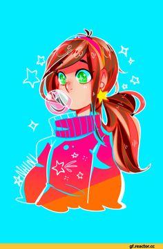 Mabel fan art - so cute! Dipper Y Mabel, Mabel Pines, Monster Falls, Desenhos Gravity Falls, Gavity Falls, Fan Drawing, Gravity Falls Art, Reverse Falls, Animation
