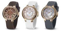 ¡Os presentamos la nueva colección #Duward #Basic #Lady! Relojes de señora disponible en color marrón, blanco y gris.
