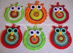Crochet Potholder Patterns, Crochet Stitches, Cute Crochet, Knit Crochet, Beginner Crochet Projects, Crochet Animals, Pot Holders, Needlework, Diy And Crafts