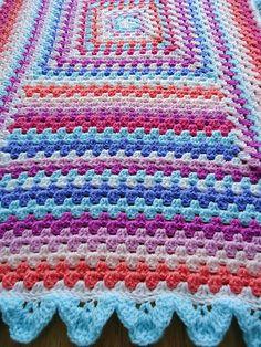crochet throw from meme-rose-crochet.blogspot.com**