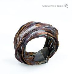 bracelet - stainless steel , silver - Pawel Kaczynski Jewellery