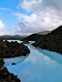 Blue Lagoon, Iceland. It wasn't all bad...