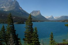 St. Mary Lake - Glacier National Park (Montana)  Ate my lunch at this lake on the Going to the Sun Road.