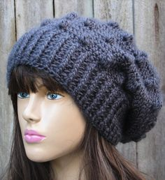 Crochet hat pattern @April Cummings ..... you would sell these like hot cakes!