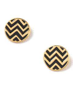 Foxy Originals Zig Zag Post Earrings