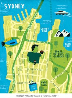 Mauricio Pierro - Map of Sydney