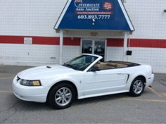 2001 Ford Mustang Buy It Now! #InterstateAutoAuction #AutoAuction #Salem #NH #NewHampshire #AutoSales #Cars #Trucks #SUVs #Auto