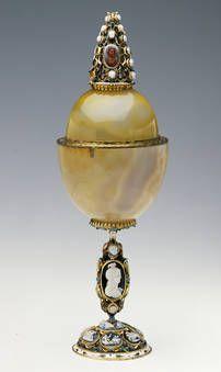 """""""Copa de ágata con camafeos"""", Anónimo, 1600-1630 / primer tercio del siglo XVII"""
