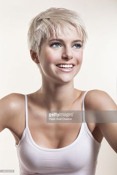 one woman, only women, one person, woman, studio, shoulder up, slim, thin, beautiful women, portrait, feminine, blonde hair, blue eyes, clear skin, good skin, white teeth, white top, soft, calm, relaxed, composed, pride, woman power, harmony, happiness, pride, freedom, freshness, joy, cheerful, carefree, purity, relaxation, spa