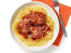 Get Spaghetti Squash and Meatballs Recipe from Food Network