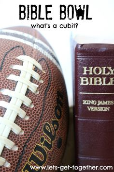 Bible Bowl-a great FHE or youth activity around Super Bowl time! Includes 70 ready-to-print questions and answers. www.lets-get-together.com #FHE #youthactivity