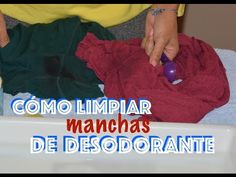 No más manchas de desodorante | Decoración Cleaning Hacks, Tempura, Good Ideas, Remove Deodorant Stains, Remove Pit Stains, Remove Yellow Stains, Grease Stains, Whitening Clothes, Cleaning Tips
