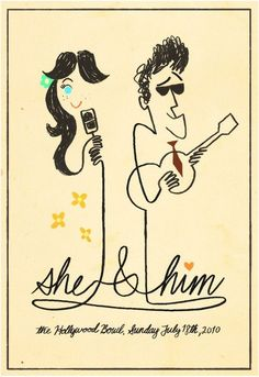 She and Him by Nate Wragg