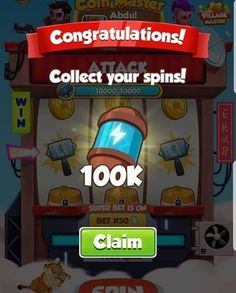Coin Master Hack 🔥 How to Hack Coin Master Free Spins and Coins ✅ Android iOS. Tuto how to get free spin master coin Your Free Spin Now! Daily Rewards, Free Rewards, Coin Master Hack, Miss You Gifts, Free Gift Cards, Online Casino, Cheating, Congratulations, Coins
