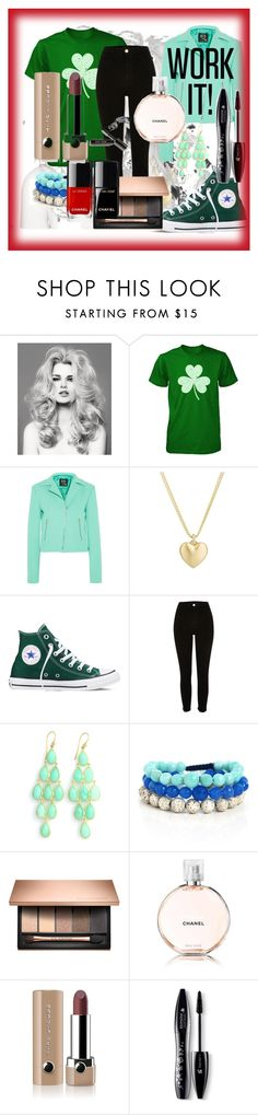 """""""Work it girl"""" by sim123sim ❤ liked on Polyvore featuring McQ by Alexander McQueen, Finn, Converse, Blooming Lotus Jewelry, Chanel, Marc Jacobs, Lancôme and Bobbi Brown Cosmetics"""