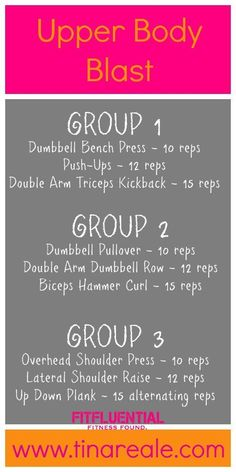 Arm workout. #FitFluential