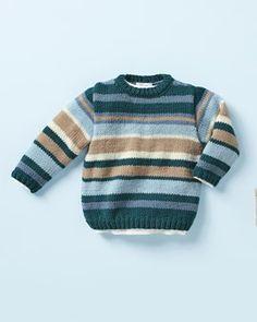 Breipatroon Trui voor jongens Baby Cardigan Knitting Pattern Free, Baby Knitting Patterns, Baby Patterns, Knitting For Kids, Crochet For Kids, Knit Crochet, Pull Bebe, Baby Pullover, Baby Sweaters