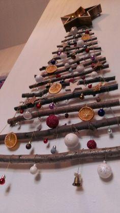 Weihnachtsdeko Triangle, Crafting