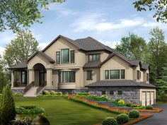 Central Kitchen is Heart of Open Floor Plan - 23205JD | Architectural Designs - House Plans