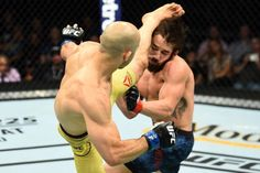 UFC Utica results, highlights: Marlon Moraes stuns Jimmie Rivera with vicious head kick Martial Arts Styles, Martial Arts Techniques, Mixed Martial Arts, Online Tickets, Sporting Event Tickets, Funny Photoshop Pictures, Ufc Fight Night, Dynamic Poses, 10 Years