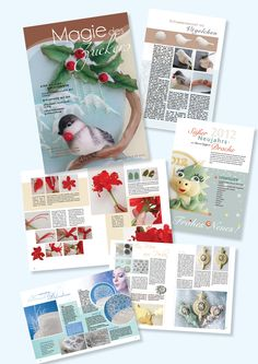 Magazin Magie des Zuckers Gum Paste, Fondant, November, Gift Wrapping, Cover, Gifts, Birthday, Tutorials, Wedding