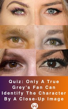 Can you identify these Grey's Characters ONLY by a close-up image of their eyes? Grey's Quiz, Trivia Greys Anatomy, Grey's Anatomy eyes, Grey's close-up images, Grey's challenge, Callie, Alex Karev, Meredith Grey, Izzie Stevens, Shonda Rhimes.