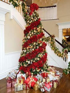 AD-Floral-Christmas-Tree-Decorating-Ideas-07.jpg (605×806)