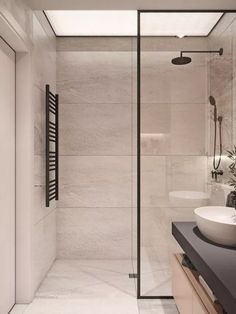 Amazing Small Bathrooms In Small Appartment Ideas Home to Z - Badezimmer Innenausstattung Small Bathroom Layout, Modern Bathroom Decor, Bathroom Interior Design, Bathroom Furniture, Bathroom Ideas, Minimalist Small Bathrooms, Beautiful Small Bathrooms, Bad Inspiration, Bathroom Inspiration