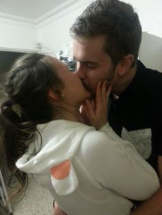 My New Years kiss with the most incredible person in the world ♥