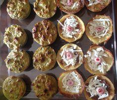 Sformati monoporzione assortiti: gateau di patate e sformato di verdure miste di stagione