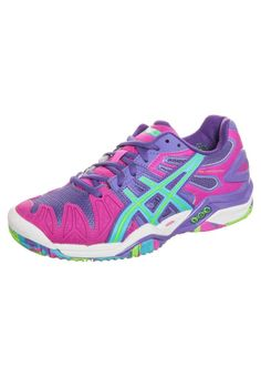 ASICS - GEL-RESOLUTION 5 - Multi-court tennis shoes - purple