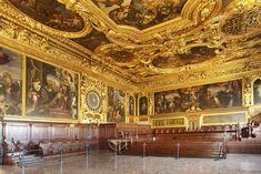 Institutional Chambers Senate Chamber, Palazzo Ducale, Venice