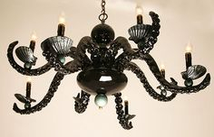 Octopus Chandeliers By Adam Wallacavage