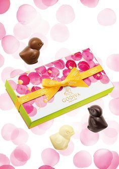ゴディバの春限定チョコレート - デザート風味のトリュフやひよこモチーフのアソートチョコの写真2