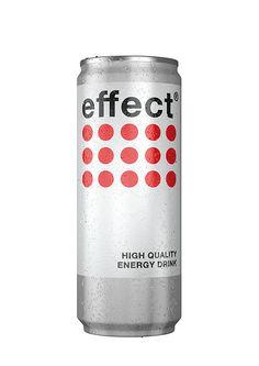 Effect Energy Drink Packaging