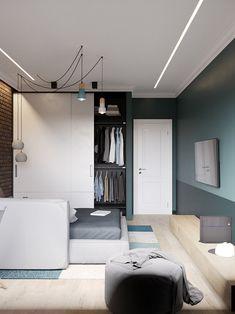 Проект недели  квартира в пастельных тонах с гостиной на кухне 01fc40498229c