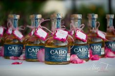 Cute party favor for Mexico wedding
