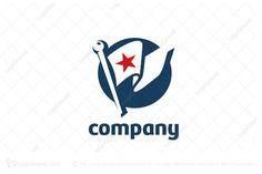 Logo for sale: Flag Logo by mc design, uploaded on Stylized US flag logo for your business. I Need Your Hug, Online Logo, Flag Logo, Fitness Logo, Diy Car, Logo Inspiration, Logo Design, Learning, Flags