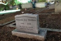 A close up of Amanda Holden's tombstone from Season 7, Episode 1. Wife Pics, Amanda Holden, Army Wives, Band Of Brothers, Season 7, Death, In This Moment