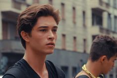 """Like, a baby Finn, right. If the eyes were """"sea green"""" blahblahblah. Seriously, this model's features are almost too perfect to be real (Francisco Lachowski)."""