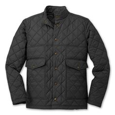 Filson black northern quilted jacket