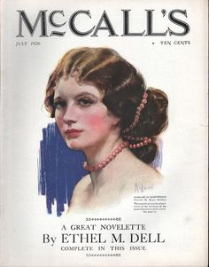 The cover artwork for McCall's (July 1926)