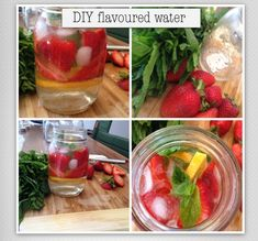 Strawberry-Mint infused water2