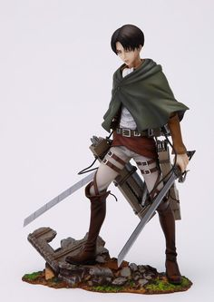 Attack on Titan Brave Act statuette PVC 1/8 Levi Rivaille 20 cm - Figurines/Attack on Titan - Style-Manga