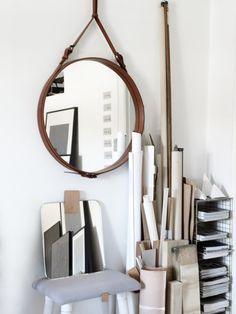 DIY: Adnet look-a-like captain's mirror