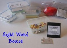 parents, schools, puzzles, boxes, word box, word work, homes, sight word games, sight word activities