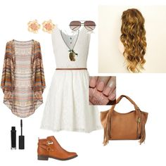 Modern country beauty, created by meitjie on Polyvore