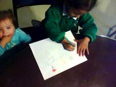 ETAPA DEL GARABATEO (2-4 AÑOS) Dibujos representativos del niño.