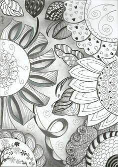 Zentangle by teagans mom
